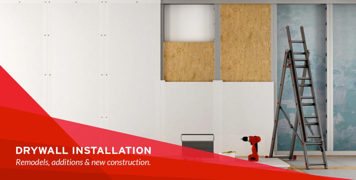 Drywall Installation - Drywall Repair Specialists
